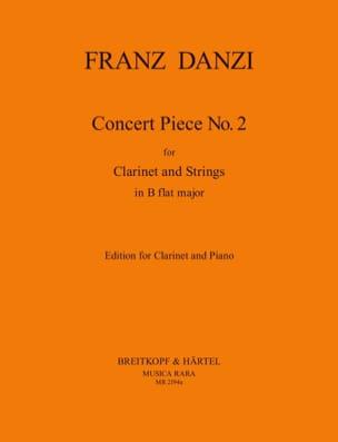 Concert Piece n° 2 in B flat major - Clarinet piano laflutedepan