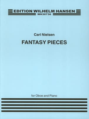 2 Fantasy pieces op. 2 - Oboe piano NIELSEN Partition laflutedepan