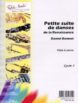 Petites Suites de Danses de la Renaissance Daniel Bonnet laflutedepan