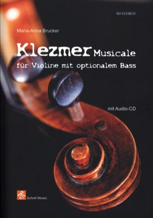 Klezmer Musicale Maria-Anna Brucker Partition Violon - laflutedepan
