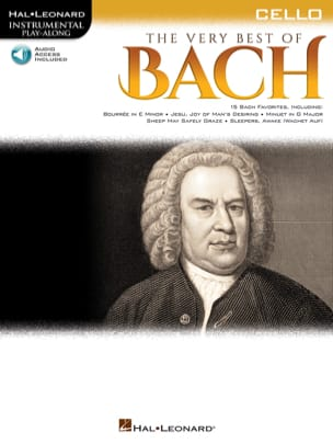 The Very Best of Bach - Violoncelle BACH Partition laflutedepan