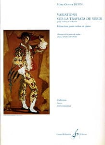 Variations sur La Traviata de Verdi Marc-Olivier Dupin laflutedepan