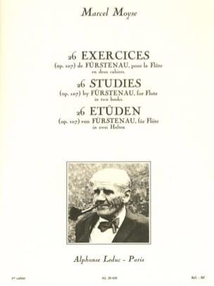 26 Exercices op. 107 - Volume 1 laflutedepan