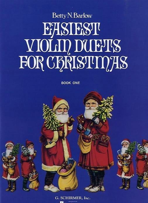 Easiest violin duets for Christmas - Book 1 - laflutedepan.com