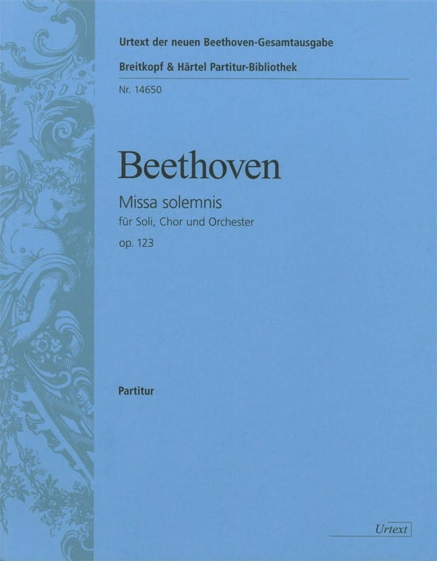 Missa Solemnis - Partitur - BEETHOVEN - Partition - laflutedepan.com