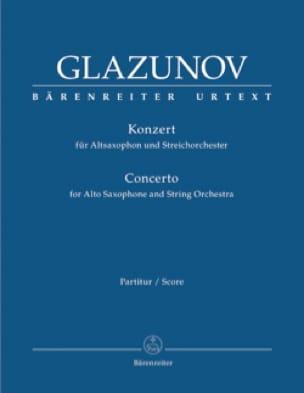 Concerto pour Saxophone et Orchestre, op. 109 - Conducteur - laflutedepan.com