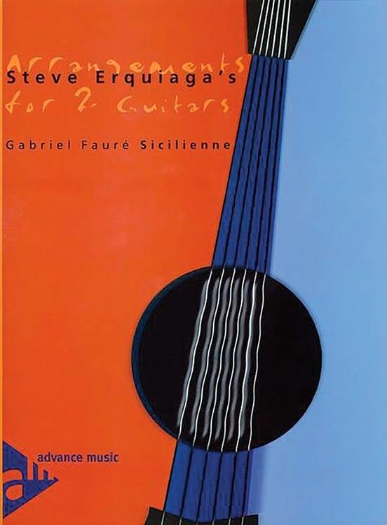 Sicilienne - FAURÉ - Partition - Guitare - laflutedepan.com