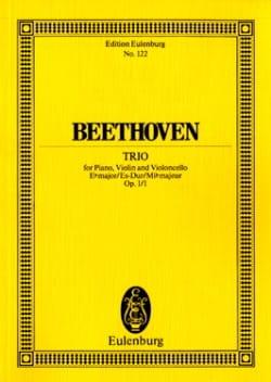 Klavier-Trio Es-Dur - BEETHOVEN - Partition - laflutedepan.com