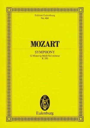 Symphonie Nr. 40 g-moll KV 550 - Partitur MOZART laflutedepan