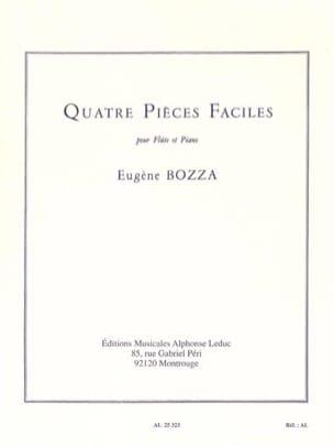 4 Pièces faciles Eugène Bozza Partition laflutedepan