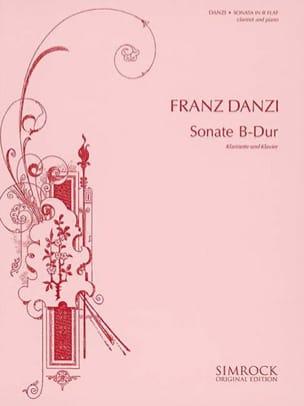 Sonate B-Dur - Klarinette Klavier Franz Danzi Partition laflutedepan