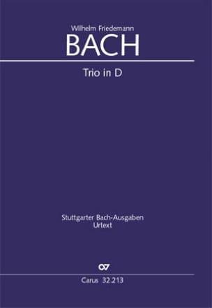 Trio en Ré Majeur - Br-Wfb: B13 Fk 47 Urtext laflutedepan