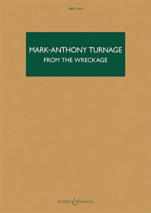From the Wreckage Mark-Anthony Turnage Partition laflutedepan