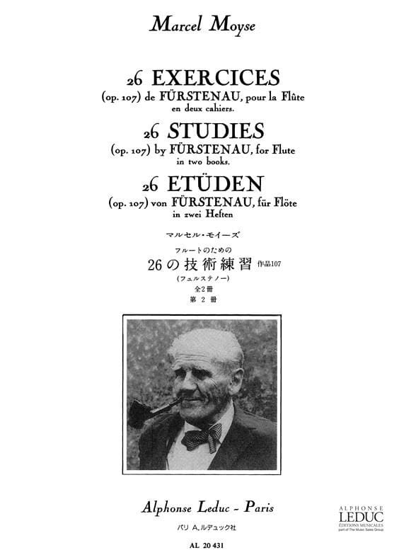 26 Exercices op. 107 - Cahier 2 - laflutedepan.com