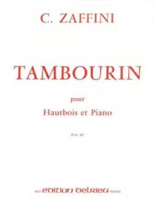 Tambourin - Clément Zaffini - Partition - Hautbois - laflutedepan.com