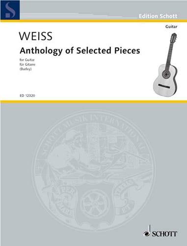 Anthology of Selected Pieces - Guitare - laflutedepan.com