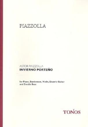 Invierno Porteño - Quintette - Astor Piazzolla - laflutedepan.com