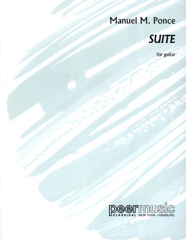 Suite - Gitarre Solo - Manuel Maria Ponce - laflutedepan.com