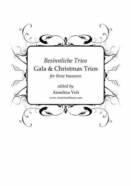 Gala & Christmas Trios - 3 Bassons - laflutedepan.com