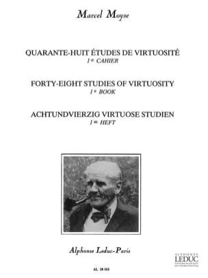 Marcel Moyse - 48 Virtuosity Studies - Volume 1 - Partition - di-arezzo.com