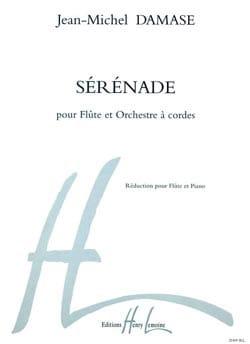 Sérénade -Flûte piano Jean-Michel Damase Partition laflutedepan