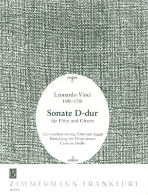 Sonate D-Dur - Flöte Gitarre - Leonardo Vinci - laflutedepan.com