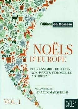 Noëls d'Europe - Vol. 1 Partition Flûte traversière - laflutedepan