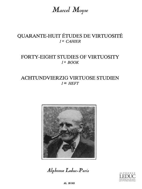 48 Etudes de virtuosité - Volume 1 - Marcel Moyse - laflutedepan.com