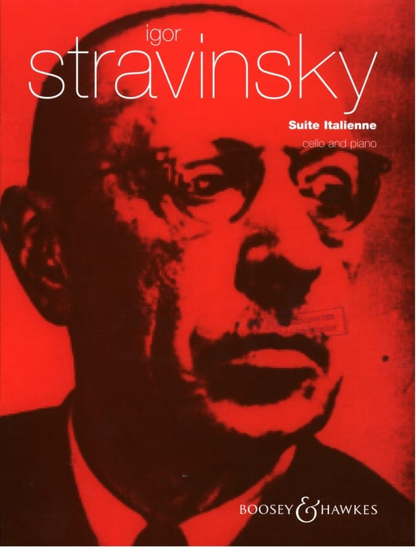 Suite Italienne - STRAVINSKY - Partition - laflutedepan.com