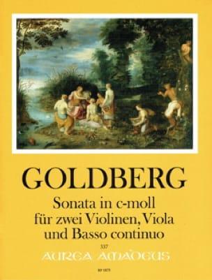 Sonata in c-moll - Johann Gottlieb Goldberg - laflutedepan.com