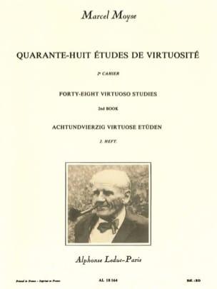 48 Etudes de virtuosité - Volume 2 Marcel Moyse Partition laflutedepan