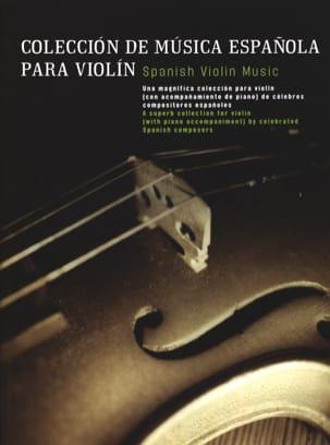 Coleccion de Musica Espanola Partition Violon - laflutedepan