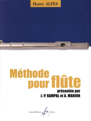 Méthode pour Flûte Henry Altès Partition laflutedepan