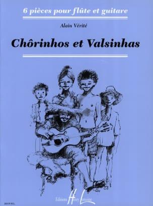Chorinhos et Valsinhas Alain Vérité Partition Duos - laflutedepan