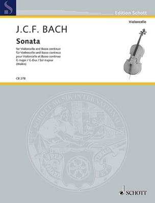 Sonate en Sol Majeur - Violoncelle et Basse continue laflutedepan