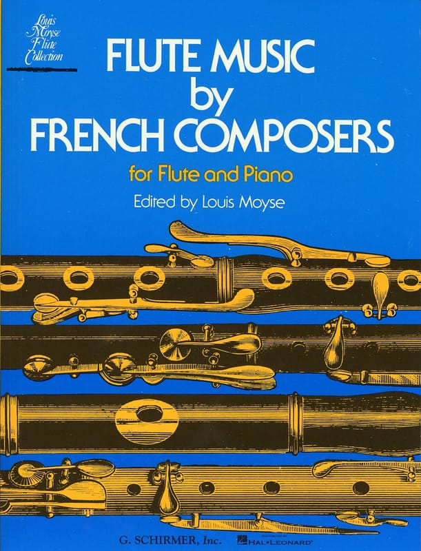 Flute Music by French Composers - Partition - laflutedepan.com