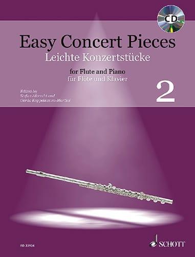 Easy Concert Pieces Vol. 2 - Partition - laflutedepan.com