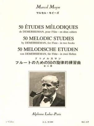 50 Etudes Mélodiques Volume 1 laflutedepan