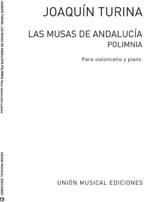 Polimnia TURINA Partition Violoncelle - laflutedepan