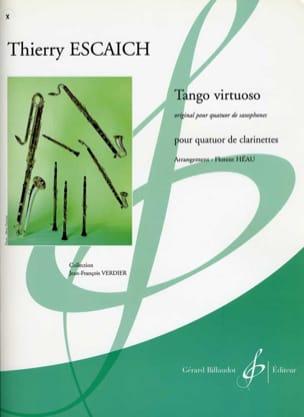 Tango Virtuoso - Thierry Escaich - Partition - laflutedepan.com