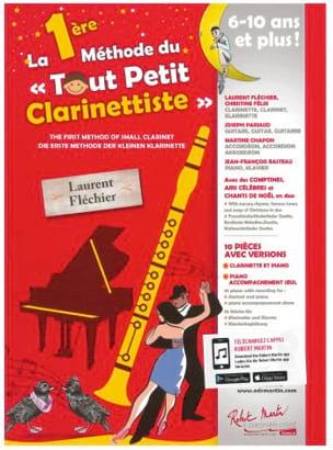 La 1ère Méthode du Tout Petit Clarinettiste Partition laflutedepan