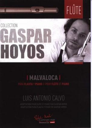 Malvaloca - Flûte et Piano Luis Antonio Calvo Partition laflutedepan