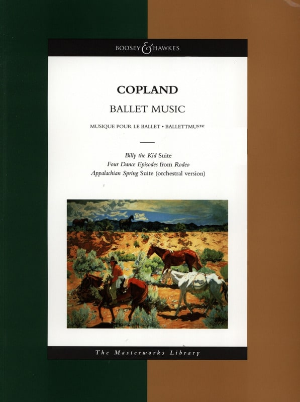 Ballet Music - Conducteur - COPLAND - Partition - laflutedepan.com