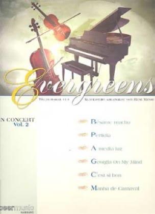Evergreens - In Concert Vol.2 - Partition - laflutedepan.com