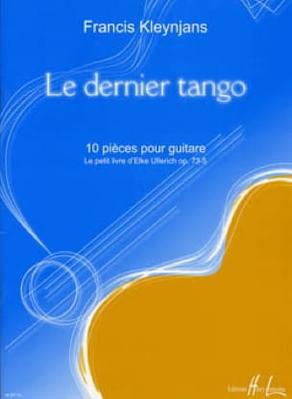 Le Dernier Tango - Francis Kleynjans - Partition - laflutedepan.com