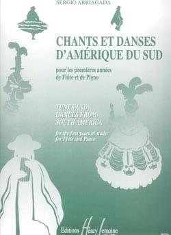 Chants et Danses d'Amérique du Sud - Flûte piano laflutedepan