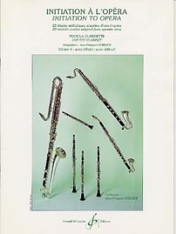 Jean-François Verdier - Initiation to the Opera Volume 4 - Partition - di-arezzo.com