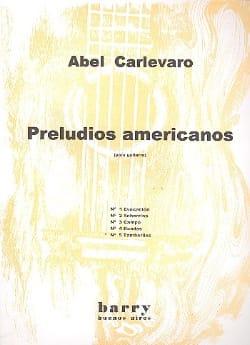 Preludios Americanos - N° 5 Tamboriles Abel Carlevaro laflutedepan