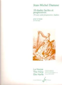 10 Etudes Faciles et Progressives Jean-Michel Damase laflutedepan