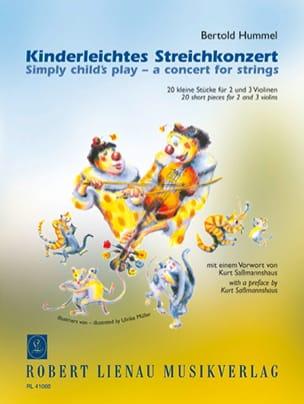 Kinderleichtes Streichkonzert - HUMMEL - Partition - laflutedepan.com